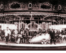 PTC30 in 1923 - the year it arrived at Luna Park in Melbourne