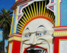 Luna Park, Melbourne, site of the PTC 30 Carousel